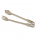 Medium Garlic Bread Tongs(Stainless S)